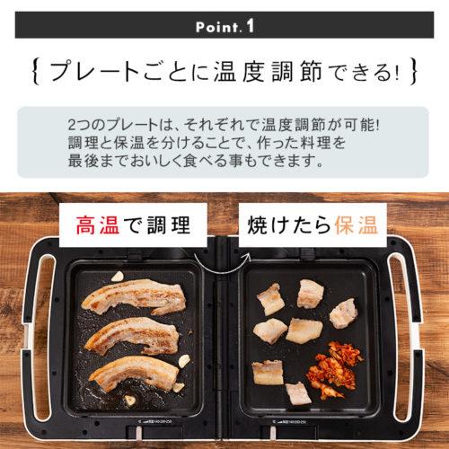 アイリスオーヤマ DPO-133 温度調節