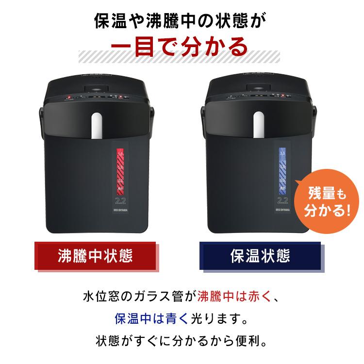 アイリスオーヤマ IAHD-122 水位窓