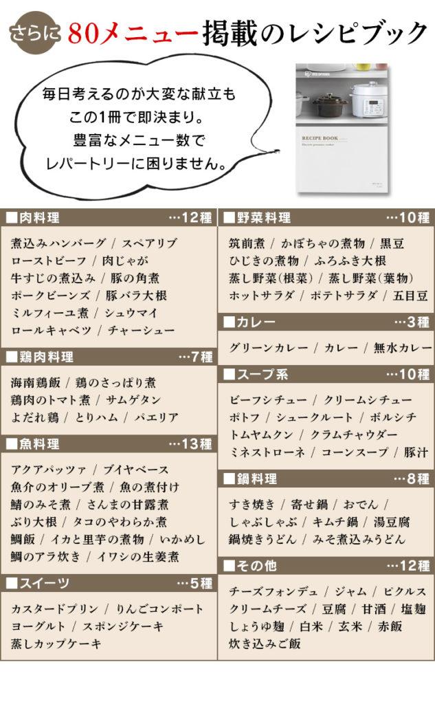 PC-MA3 レシピブック
