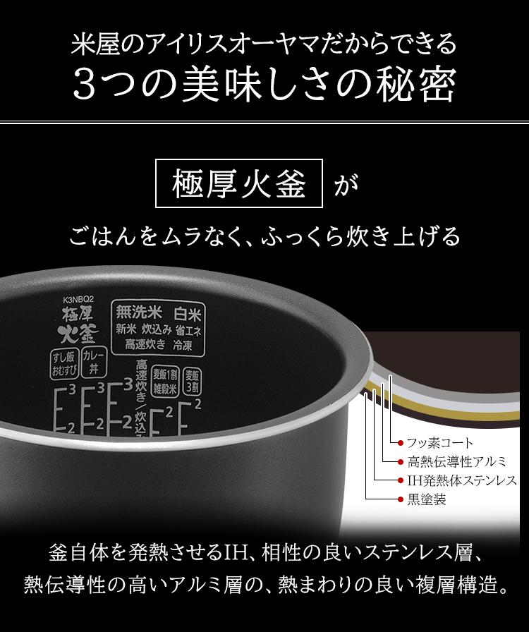 アイリスオーヤマ RC-PD30 極厚火釜